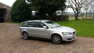 2008 Volvo V50 1.6 Diesel estate, spares or repair. Starts & drives.