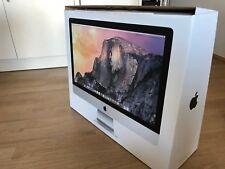"Apple iMac 27"" Retina 5K 3,5 GHz i5 8GB RAM 1TB Fusion Drive wie neu! OVP! TOP!"