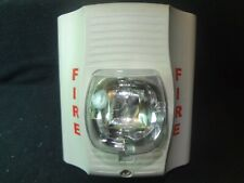 SYSTEM SENSOR SW SELECTABLE WHITE FIRE ALARM STROBE FREE SHIPPING !!!