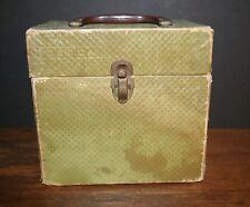 VTG  ATCO 45 RPM Record Case Storage Case Cardboard DECCAFILE