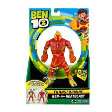 Ben 10 Transformer Alien 17cm Figura - Ben-To-Heatblast Nuevo