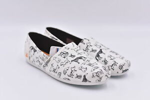 Women's Skechers Bobs Plush - Dream Doodle Slip On Shoes, White, 10