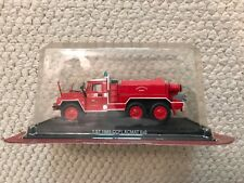 Del Prado Collection 1:57 Scale 1985 CCFL ACMAT 6x6 Fire Truck