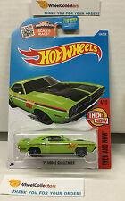 '71 Dodge Challenger #104 * GREEN * Hot Wheels 2016 * B4
