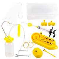 Bicycle Hydraulic Disc Brake Mineral Oil Bleed Kit fit for SHIMANO MAGURA TEKTRO