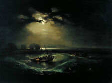 A3 - J.M.W TURNER - FISHERMAN- FAMOUS PAINTERS CLASSIC PAINTINGS Posters #4