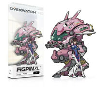 "Overwatch D.Va + Meka X5 6"" FiGPiN XL Enamel Pin Blizzard BlizzCon 2019 NEW RARE"