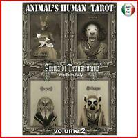 tarocchi degli animali mazzo carte gioco fortuna spiriti guida oracolo sibille 2