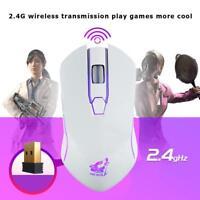 X9 Kabellose Optische Maus 6 Knöpfe 1800DPI USB Wiederaufladbar PC Gaming Lot
