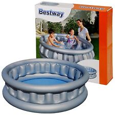 Bestway Giant Inflatable Spaceship Water Swimming Paddling Pool Garden Kids Deep