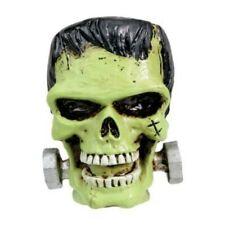 "2"" Frankenstein Skull Head Bust Figurine Figure Statue.Unique.Cool Project Idea"