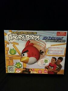 Angry Birds Air Swimmers Turbo Red Flying Remote Control Balloon Open Box Read