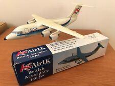 Air UK British Aerospace 146 Jet by Wooster 1:100 Scale Model RARE