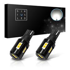 SiriusLED 2x 921 T15 LED Back Up Tail Light Bulbs 400 Lumen Each No Canbus Error