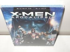 x-men apocalipsis - blu-ray 3 D + BLU-RAY
