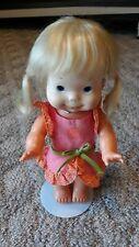 "Vintage ~1978~ Ideal Toy Corp ~Whoopsie 13"" Doll w/ Blond Hair PigTails works"