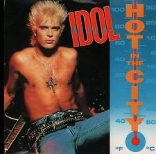 "Billy Idol(7"" Vinyl P/S)Hot In The City-Chrysalis-IDOL 12-UK-1987-VG/VG+"