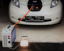 Notstromaggregat PV Strom Elektro E-Auto Stromquelle Camping 3,3kW Entladung NEU