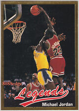 1990 LEGENDS SPORTS MEMORABILIA: MICHAEL JORDAN #16 CHICAGO BULLS ODDBALL - MINT