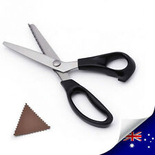 1 x Stainless Dressmaking Sewing Pinking ZigZag Scissor Triangle Sawtooth (A003)