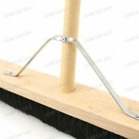 Strong Metal Brush Broom Support Stay Arm Bracket Fixing Platform Broom