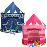 Children Girl Boy Kids Pop-Up Castle Play Tent Play House Outdoor Garden Indoor