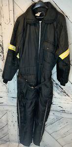 Vintage Snowmobile Suit JC Penney Apparel Size LARGE