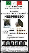 600 Capsules compatibles Nespresso® RISTRETTO