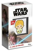 2021 Niue Star Wars Luke Skywalker Chibi 1oz Silver Proof Coin ~ SOLD OUT