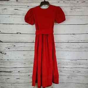 Strasburg Heirloom Collections Classic Red Dress Sz 10Y