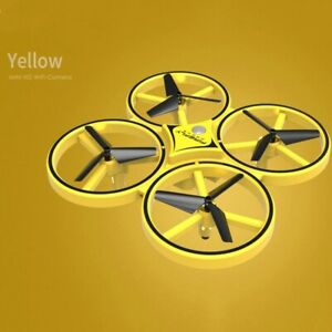Flying Watch Gesture Helicopter Drone Hand Infrared Electronic Quadcopter Toy
