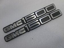92-99 GMC 1500 SL Door Emblem 15551232   (((PAIR)))