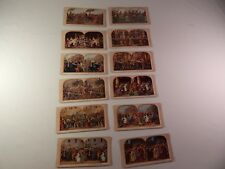 Stereoscope Cards 12pc lot