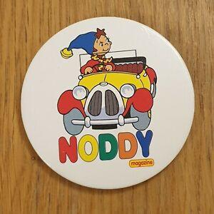 NODDY Magazine Large Vintage 90s Badge 70mm