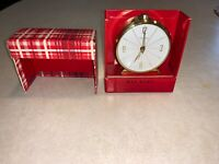 Vintage Wee Scot By Seth Thomas Alarm Clock With Box - Free Shipping!