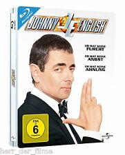 JOHNNY ENGLISH (Rowan Atkinson) Blu-ray Disc, Steelbook (NEU+OVP)