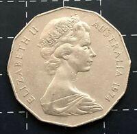 1974 AUSTRALIAN 50 CENT COIN