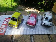 NIPCO TOYS n°3 set 3 voitures Funny retro friction neuf blister jamais ouvert