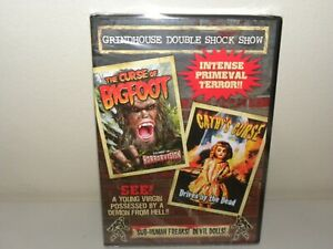 The Curse Of Bigfoot 1976 + Cathy's Curse 1977 - DVD - New Sealed - ALL REGIONS
