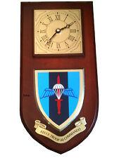 40 Commando Recce Troop Royal Marines Regimental Military Wall Plaque & Clock