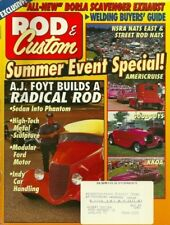ROD & CUSTOM 1994 DEC - AJ FOYT BUILDS A ROD, 37 FAT FORD GETS SUICIDE DOORS