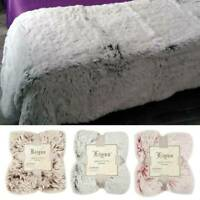 Large Soft Warm Cuddly Teddy Throw Double King Size Bed Sofa Fleece Blanket