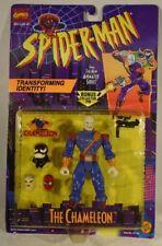 Spider-Man Animated Series The Chameleon with Venom & JJJ Heads Toy Biz (MOC)