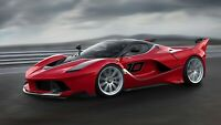 2015 Ferrari FXX K Side Auto Car Art Silk Wall Poster Print 24x36""