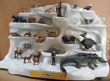Safari Ltd 29 piece Display, NEW and MINT!