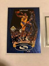 Kobe Bryant Signed Card Auto Autograph With COA.
