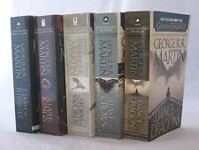 A Song of Ice and Fire/Game of Thrones George R. R. Martin (HBO Tie-in Set 1-5)