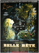 LA BELLE ET LA BETE Beauty and the Beast Affiche Ciné Movie Poster JEAN COCTEAU
