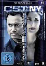 6 DVDs * CSI : NY - DIE KOMPLETTE SEASON 5 # NEU OVP