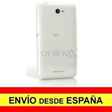 Funda Silicona para SONY XPERIA E4 Carcasa Transparente ¡DESDE ESPAÑA! a2071